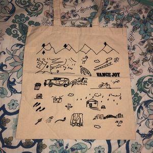 Handbags - Vance Joy tote bag